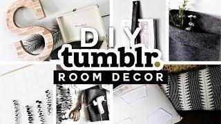 DIY Tumblr Room Decor Ideas for 2017 💡 ✂️ 🔨 Minimal & Affordable!