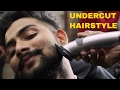 Modern Undercut 2017 ⭐️ BEARD + MUSTACHE⭐️ Indian men's hairstyle