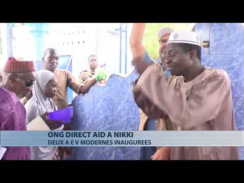 Nikki : Direct Aid inaugure deux AEV modernes
