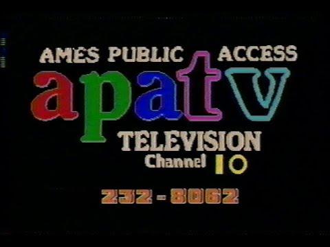 1996 Ames Iowa Public Access (Channel 10) TV Schedule