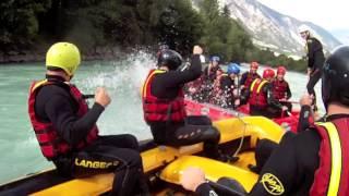 Rafting Imster Schlucht Österreich (Austria) - GoPro HD