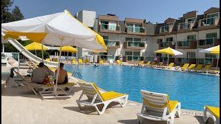ОБЗОР ОТЕЛЯ MONNA ROZA Garden Resort Hotel который работает в ЛОКДАУН Гоняем на трехколесном