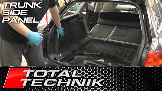 How to Remove Boot Wall Lining Side Panels - Audi A4 S4 RS4 - Avant - B6 B7 2001-2008