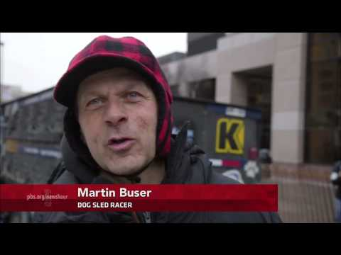 Iditarod imports snow for race's slushy start