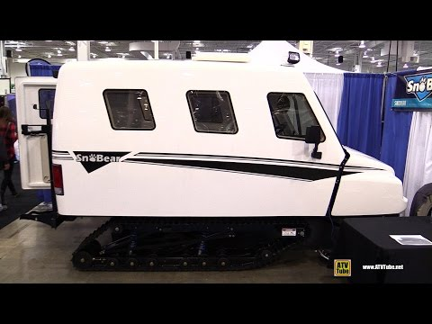2016 Sno Bear - The Ultimate Fishing Machine - Walkaround - 2016 Toronto ATV Show