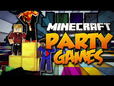 "Minecraft PARTY GAMES ""THE WORST!"" #17 w/Preston, Vikkstar123, PeteZahHutt & Lachlan"