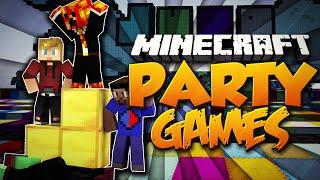 "Minecraft PARTY GAMES ""THE WORST!"" #17 w/Preston, Vikkstar123, PeteZahHutt & Lachlan"