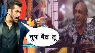 Bigg Boss 11: Salman khan gets angry on Akash dadlani, आकाश पर सलमान हुए गुस्सा !!