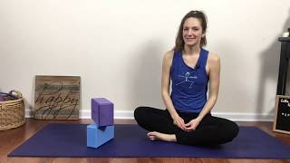 Yoga Class - Peak Pose of Splits