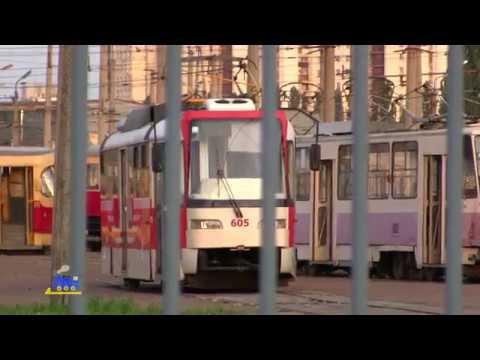 В киевском трамвае покалечилась пассажирка