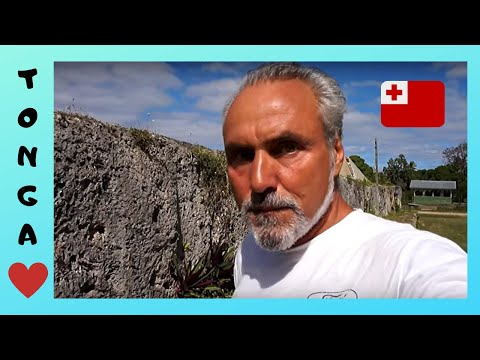 TONGA, the PYRAMIDS (Langi) & ROYAL TOMBS of LAPAHA (Pacific Ocean)