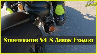 2020 Ducati Streetfighter V4 S Arrow Exhaust | Sound ONLY!