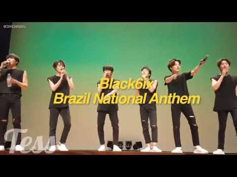 Korean artists singing brazilian songs