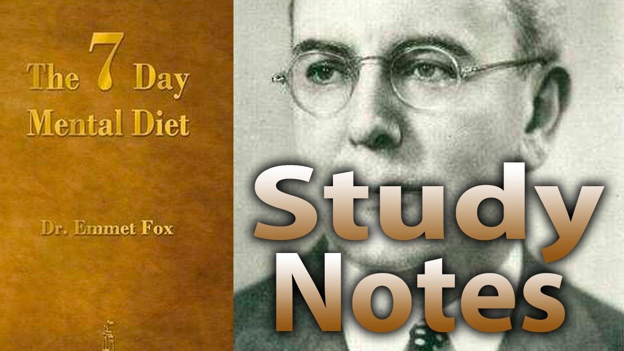 emmet fox 7 day mental diet