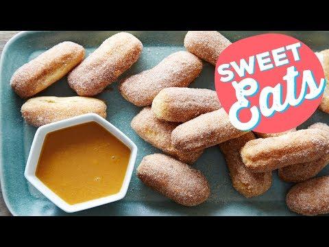 How to Make Mini Churro Bites | Food Network