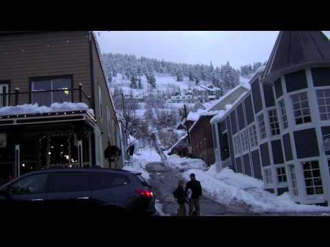 Historic Main Street, Park City--December 2010