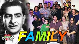 Raj Kapoor Family With Parents, Wife, Son, Daughter, Brother, Sister and Grandchildren