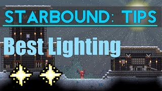 Starbound Tips: Unlimited Free Lighting