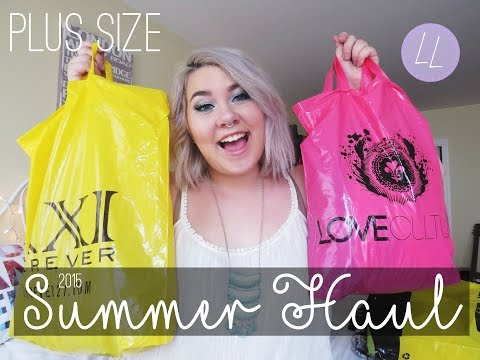 Plus Size Fashion Haul 2015 PLUS SIZE Summer Haul