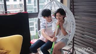 A Love So Beautiful Hu Yi Tian and Shen Yue Behind the Scenes