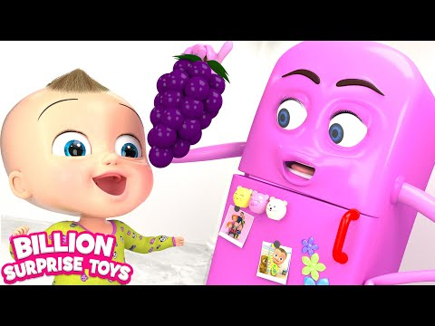 Johny Johny Yes Papa - REFRIGERATOR Remix | 3D Baby Nursery Rhyme & Kids Songs