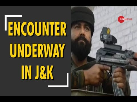 Encounter underway in Jammu and Kashmir's Shopian