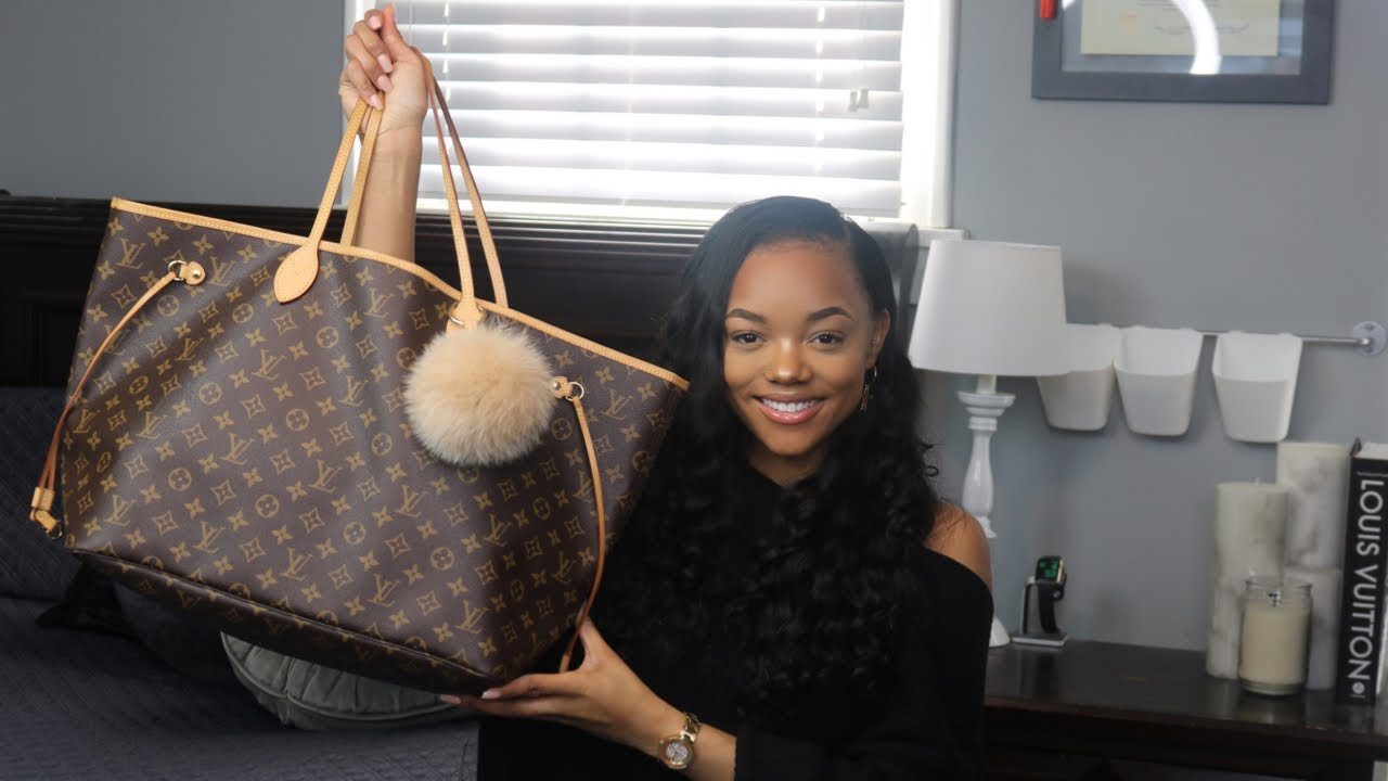 13faddaf Louis Vuitton Neverfull GM 2019 | WHATS IN MY BAG & REVIEW