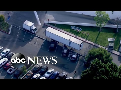 60 morgue trucks on standby in California to accommodate COVID-19 deaths l WNT