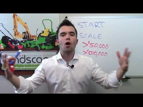 Landscape Business Course | Build a successful lawn care and