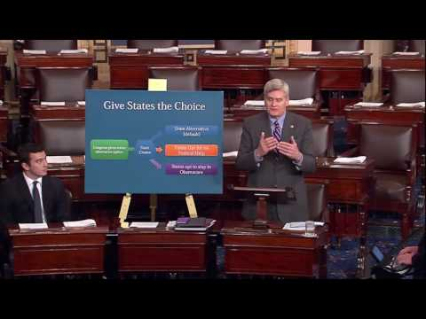 Senator Cassidy speaking on Obamacare Replacement