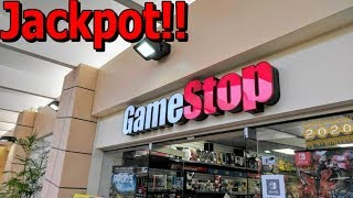 First Ever Gamestop Jackpot Dumpster Dive Of 2020!!!