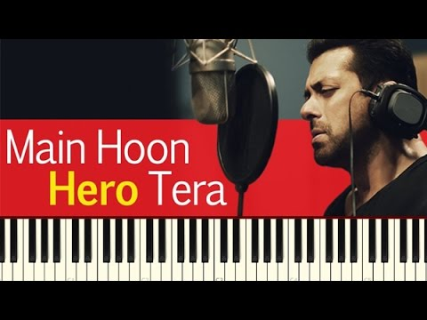 Main Hoon Hero Tera (Salman Khan) Piano Tutorial ~ Piano Daddy