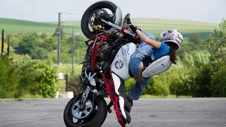 Kawasaki 636 ZXR Street Bike = Stunt Riding Motorcycle@