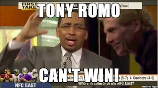 Best of Stephen A: Tony Romo Rants. Absolutely RIPS the mediocre Dallas Cowboys (2015-16 Season)