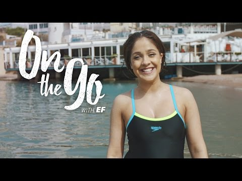 On the go with EF #4 – Elenor meets Monique at the Beach Club