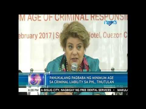 Panukalang pagbaba ng minimum age sa criminal liability sa PHL, tinutulan
