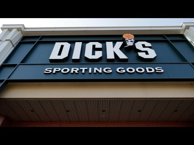 Dick's Sporting Goods, a major U.S. retailer, will immediately halt sales of assault-style rifles and high-capacity magazines at all of its stores, including Field & Stream and ban the sale of all guns to anyone under 21. (The Associated Press)