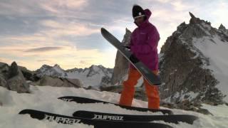Dupraz Skis D2 : How this shape works on hard pack (by the shaper Serge Dupraz)
