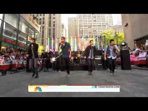 Big Time Rush - Big Night ( Live Today Show 10/11/2010 )