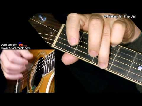WHISKEY IN THE JAR: Fingerpicking Guitar Lesson + TAB by GuitarNick