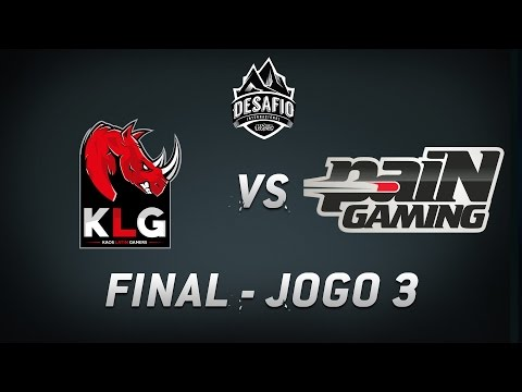 KLG x paiN (Jogo 3) Final do Desafio Internacional