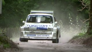Mini, EVO, WRX, WRC, Group B... Rally Highlights from Festival of Speed 2014