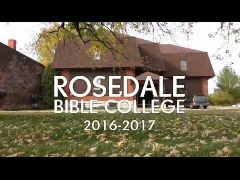 Rosedale Bible College 2016 2017