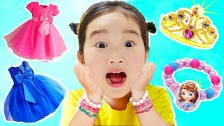 거울아 이세상에서 누가 가장 예쁘니? 보람이의 어린이 화장품 메이크업 공주놀이 Dress Up & Kids Make Up Toys