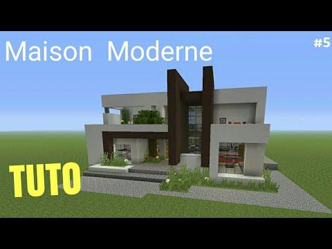 TUTO Minecraft Maison Moderne #5 PS4 (PS3/XBOX360/XBOXONE/PSVITA/PC ...