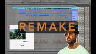 Calvin Harris - Slide [100% IDENTICAL Ableton Live Remake + Project File]