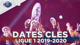 LES DATES CLES DE LA LIGUE 1 2019-2020