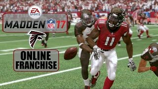 Madden NFL 17 (Xbox One) - Atlanta Falcons Online Franchise - EP1 (Week 1 vs Buccaneers)
