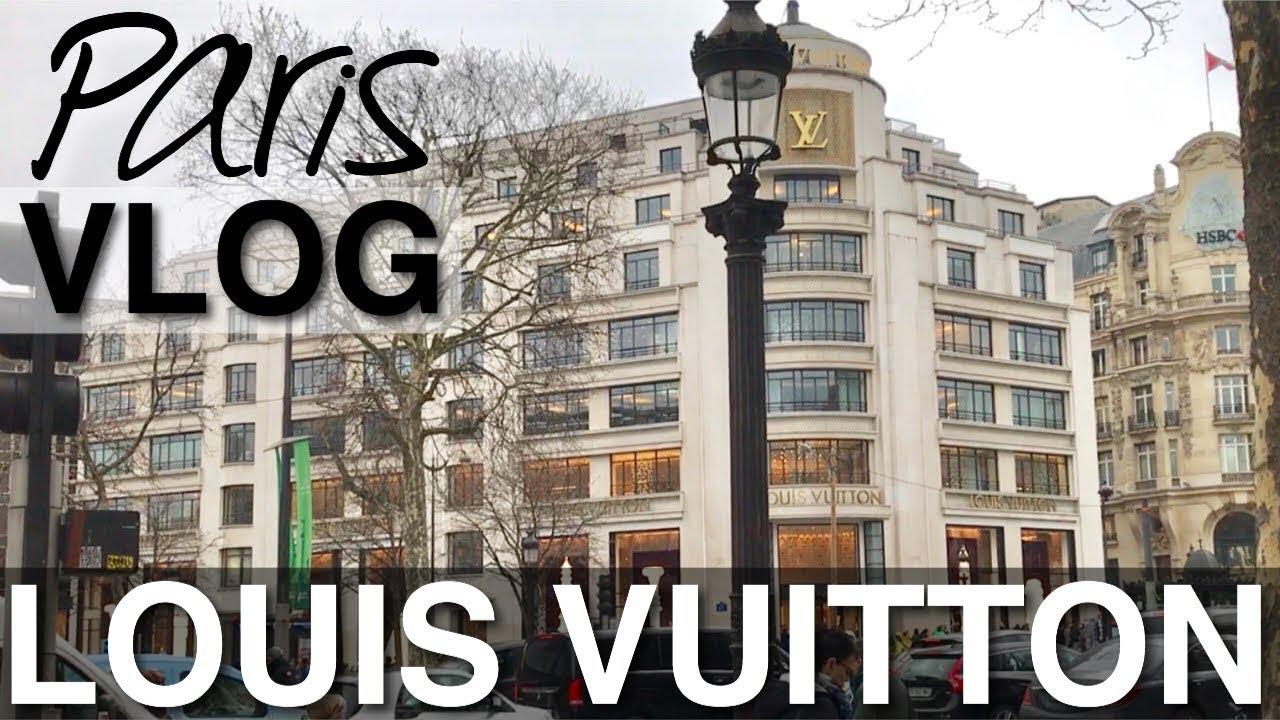 9de6980a8f26c LOUIS VUITTON BOUTIQUE IN PARIS    PARIS VLOG    ANNA IN WARSAW ...