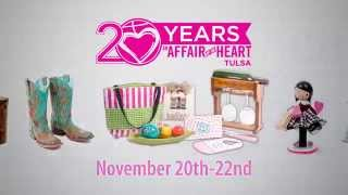 An Affair of the Heart of Tulsa November 2015 show spot
